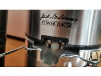 URGENT SALE - Jack Lalanne's JLSS Power Juicer Deluxe StainlessSteel Electric Juicer (AS SEEN ON TV)