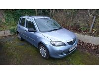 MAZDA 2 long m.o.t Spare or repair drive back home