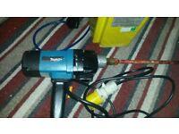 makita drill mixer and transformer 110v fully working ready to use