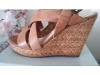 Ladies brand new sandas size 5