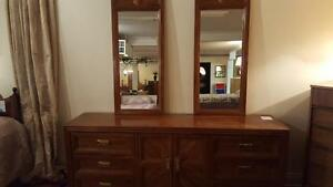 Dresser with Two Mirrors