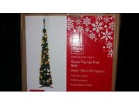 pop up tree £15, o.n.o. cant find the lights that where included