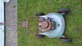 Hayterette mower lawn mower rough cut