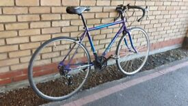 LIGHT SMALL FRAME RALIGH ROAD RACING BIKE MANY NEW PARTS RECENTLY SERVICED