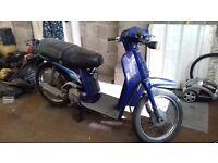 Honda sh50-h 1988 scooter / moped classic