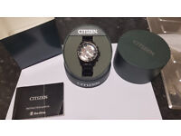 AT4007-54E Citizen Watch, Chronograph Eco-Drive and radio controlled