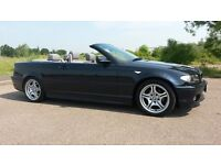 2005 (05) BMW 3 SERIES M SPORT CONVERTIBLE