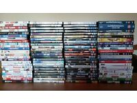 170 DVD's - mixed Comedy, Action, Chick flick, etc.....