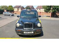 LONDON TAXI TX1 SILVER SPEC X REG 2000 SILVER SPEC AUTOMATIC BLACK