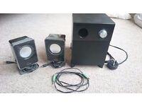 LOGIK speaker set
