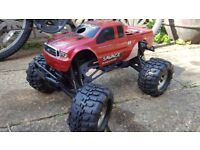 Nitro rc car hpi savage ss , 3.5 engine