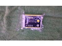 Genuine Epson T1004 print cartridge - Yellow - in original wrapping