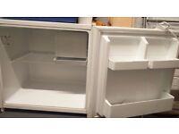 £25 - Half Fridge with freezer box - Zanussi - £25 - PAT tested
