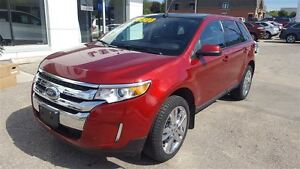 2013 Ford Edge SEL FWD | Local Trade | Panoramic Roof Kitchener / Waterloo Kitchener Area image 3