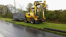 Machine and driver hire