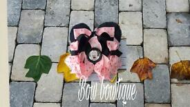 Minnie Mouse bowtique Hairbow