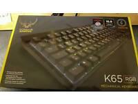 Corsair k65 RGB gaming keyboard