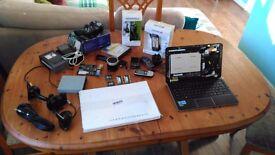 Job lot of Laptop/Desktop parts and other Goodies