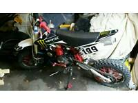 M2r 125 pitbike