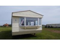 DOUBLE GLAZED/CENTRAL HEATED CARAVAN FOR SALE! SKEGNESS CHOICE OF PARKS.