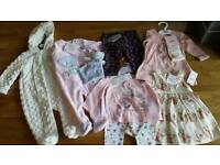 3-6 month baby girl clothing bundle