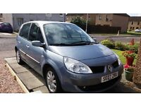 **REDUCED FOR QUICK SALE** 2007 RENAULT SCENIC 1.6 DYNAMIQUE. LOW MILEAGE, MOT SEPTEMBER 2017