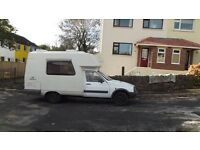 Romahome 2003, Citroen C15 Champ. Economical, tidy, comfortable, high top with rear galley.