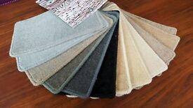 Felt back carpet off the roll for sale with fitting