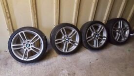 BMW M Sport Alloy wheels 18""