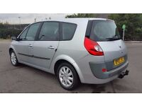 7 SEATER 2008 {57 REG} GRAND SCENIC 1.6 MANUAL IN EXCELLENT CONDITION. LONG MOT. SERVICE HISTORY