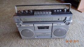 Vintage Ferguson Radio Cassette Player