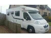 Motorhome hire campervan rent Vw Elddis 4 berth 2013 van