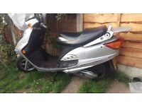 Baotian scooter 125cc. long mot great runner and body work