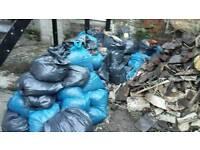 Soil rubble mix about 100 bags