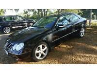2002 Mercedes CLK 320 Avantgarde Coupe - Auto - Black - £2,000 o.n.o. - NO SWAPS OR SALES CALLS