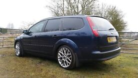 Ford Focus Mk2 Estate, New Clutch DMF Wheels and Tyres 12months MOT