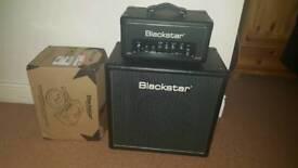 Blackstar ht1r head with ht112 cab. guitar amp