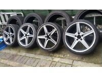 """Mercedes Alloy Wheels 19"""" with Tyres"""