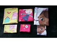 3x toddler bedding sets