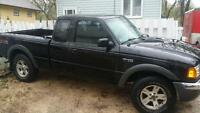 2002 ford ranger fx4 with very low km only 128000