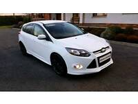LATE 2013 FORD FOCUS TDCI ZETEC S.UPGRADED BODY KIT AND ALLOYS.FINANCE THIS CAR FROM £38 PER WEEK.