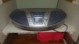 Panasonic CD Radio Cassette Player