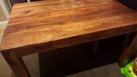 Sheesham table(No chairs)