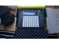 Ableton Push 2 midi DAW controller with box and protection case LIKE NEW