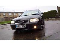 Audi A6 3.0 Quattro, 3 owners, long MOT 2 set of alloys BARGAIN !!