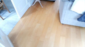 hardwood Maple flooring 27m2