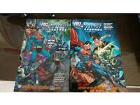 Dc universe legends graphic novels
