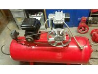 Wanted air compressor must be 150L or 200L...