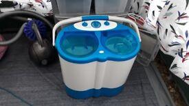 Portable washing machine...twin tub