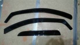 Corsa b 5dr Team Heko Wind/Rain Deflectors (2 front, 1 rear)